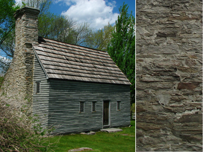 The story of stone and early american home styles old for Home construction styles