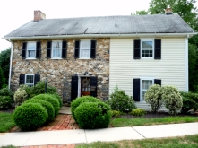 Colonial stone home in Delaware