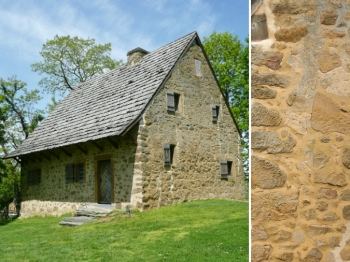 Peachy The Federal Style Stone Home Old Stone Houses Inspirational Interior Design Netriciaus