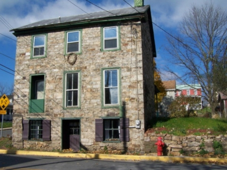 Old Stone Home Newton Hamilton Pennsylvania