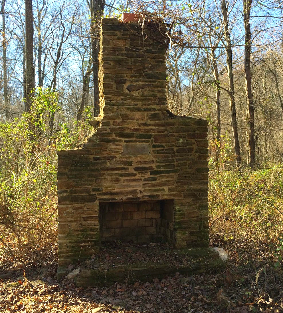 Mount Airy Stone Fireplace  Old Houses