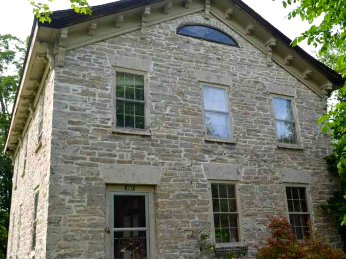 Classic new york colonial old stone houses for Classic new york house music