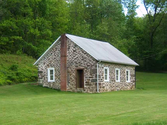 Quaint Schoolhouse In The Keystone State Old Stone Houses