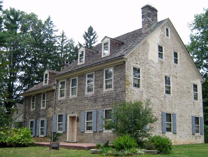 The Richard Wall House, circa 1682