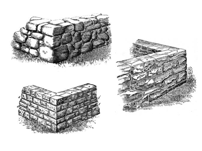 Old Stone Wall Types