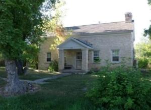 Old stone cottage in Utah