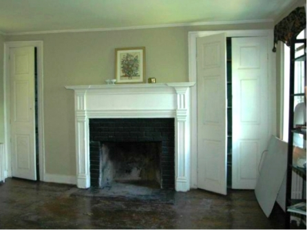 Woodbryne Aldie Virginia fireplace