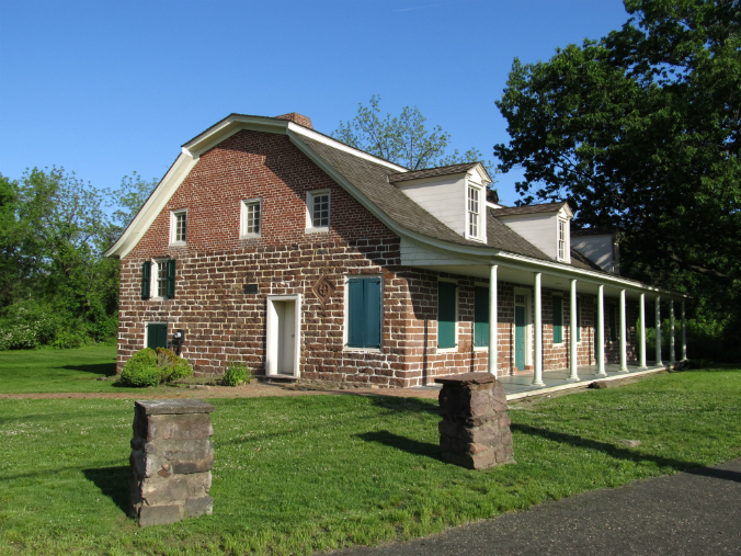 Steuben House, Dutch Colonial, sandstone building, George Washington