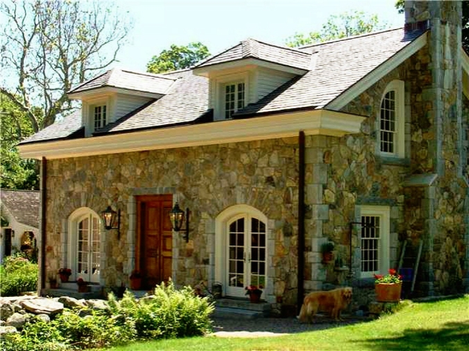 old stone home, Stonington, Connecticut
