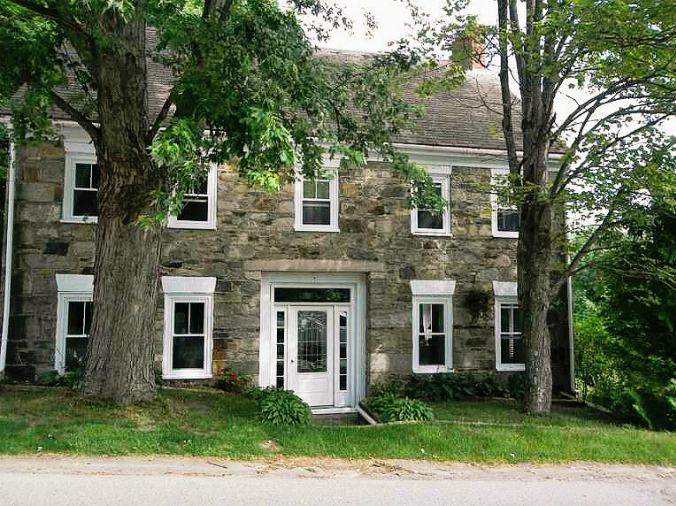 old stone home, Calais, Maine
