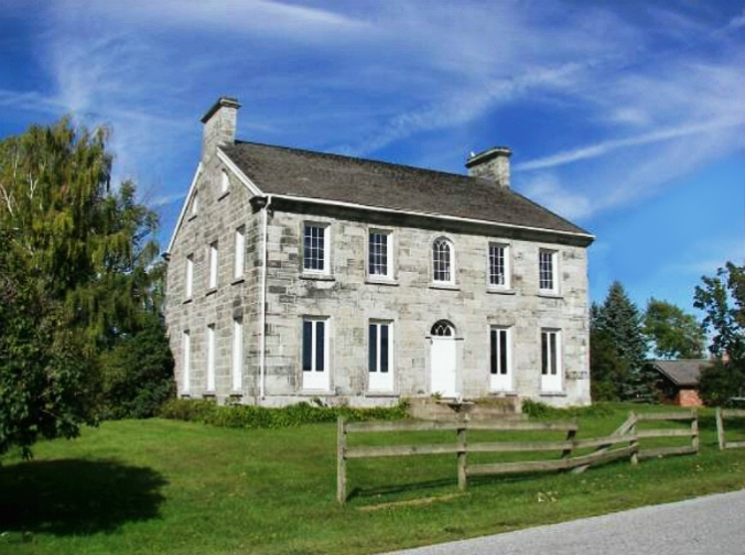 old stone home, Colonial home, Alburgh, Vermont, Lake Champlain