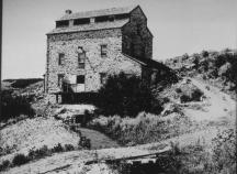 Richards Grist Mill, old photo, Farmington, Utah, mormon mill, old stone mill for sale