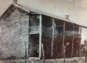 Francisco/Maximo Cadena House, old photo, San Antonio Texas, historic homes of San Antonio