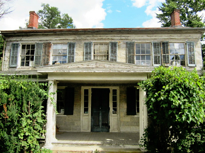 Old Limestone home, Moravian home, Hope, New Jersey