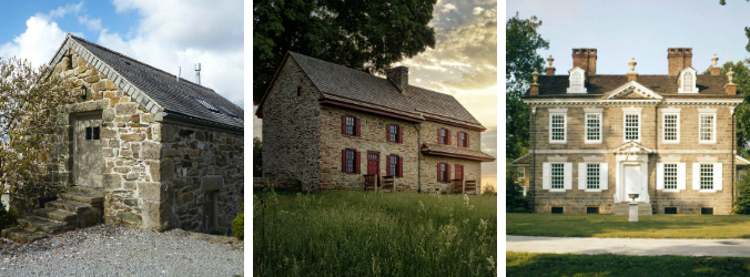 old stone homes, stone home styles, personality quiz