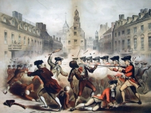 Boston Massacre, William L. Champney, 1770