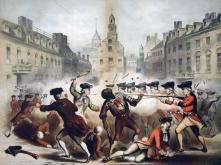 Boston Massacre, William L. Champney, 1770