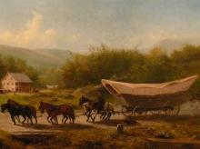 Conestoga Wagon, American history, 1750