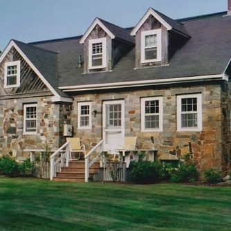 Old stone cottage for rent, Boothbay Harbor, Maine