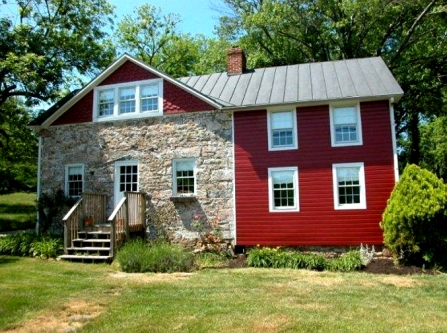 Old stone home, Ellicott City, Maryland, early American home, colonial-era home, Carroll family