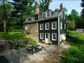 The Stone House 1807, New Platz, historic stone home for rent, New York