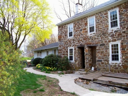 old stone home, colonial-era home, Early American home, New Jersey, historic home