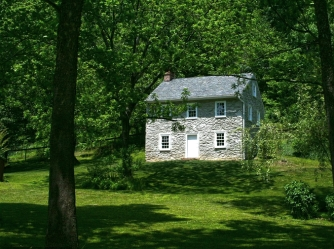 old stone cottage, Delta, Pennsylvania, Historic Ox Bow House, Muddy Creek