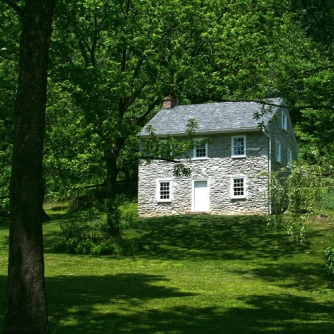 old stone cottage, Delta, Pennsylvania, Historic Ox Bow House, Muddy Creek