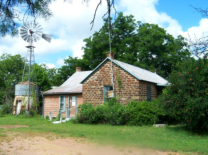 old stone home for sale in Mason Texas