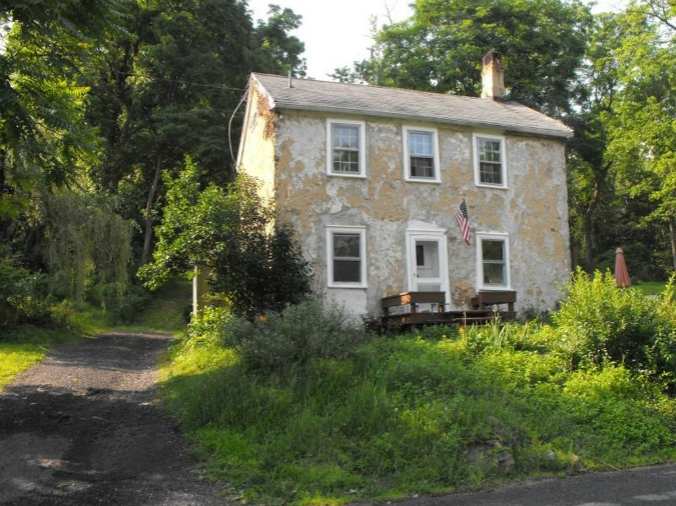 old stone home for sale in Asbury, NJ, fixer upper, as is home