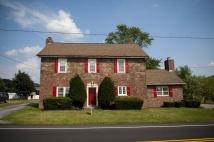 Brecknock Township Schoolhouse, old stone schoolhouse, historic houses, Pennsylvania
