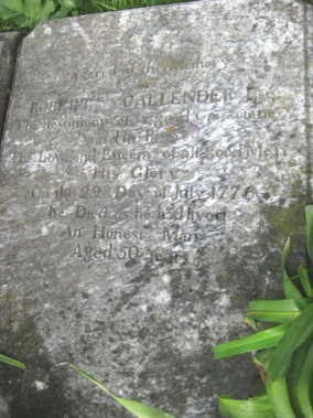 Robert Callender Gravestone, Jean Bennet Tavern, old stone tavern, haunted tavern, most haunted places, old stone homes