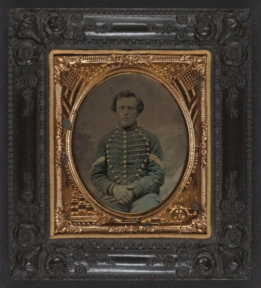 Unidentified New Jersey Soldier Civil War