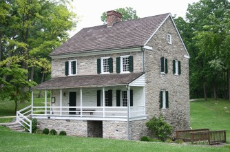 Hager House, Jonathan Hager, Hagerstown, haunted house, old stone house, real life haunted houses, old stone homes, haunted houses in Maryland