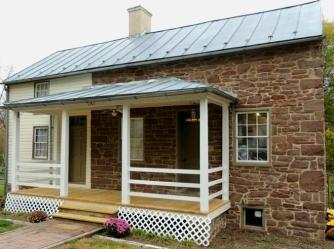 Circa-1875 stone home, Keymar, Maryland, old stone homes for sale, old stone house, old stone cottage