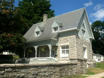 Granite Stone Home, Brightwood Hall, Bristol, Connecticut, old stone homes for sale, old stone houses, old stone cottage