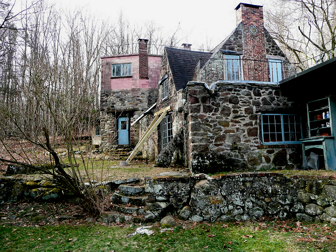Crow House, Henry Varnum Poor, New York, old stone home, old stone cottage, endangered historic properties
