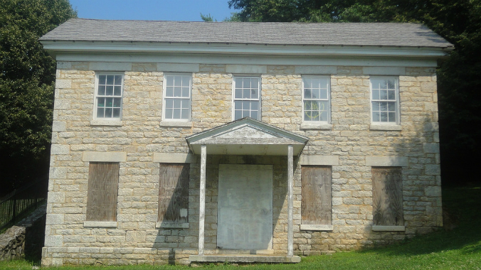 Pest House, Cockeysville, Baltimore County, Maryland, old stone house, old stone home, endangered historic property