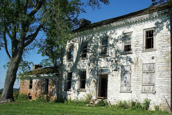Rural Mount, Tennessee, old stone home, old stone house, most endangered historic places