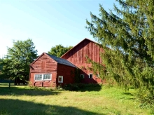 Saugerties Old Red Barn