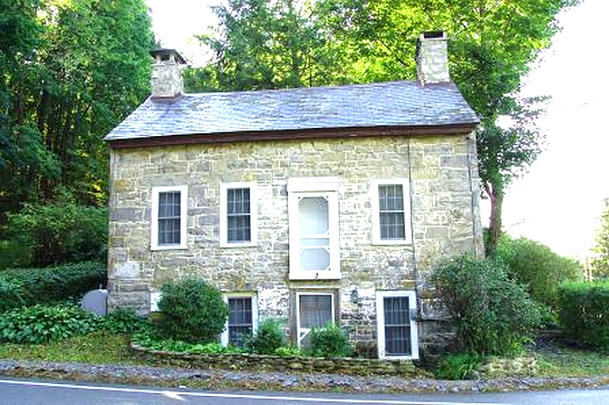 Old Stone Cottage, Blairstown, New Jersey, Moravian architecture, old stone home, old stone house, colonial home, old stone home for sale