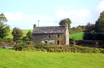 Old Stone House Cork Bandon Ireland, Irish country cottages, old stone homes for sale, old stone houses, historic properties