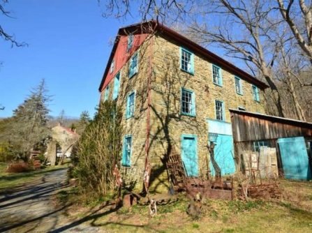 Stein Mill Kutztown PA, sandstone mill, old stone mill, mills for sale, old stone homes for sale, old stone houses, historic properties, mill photography