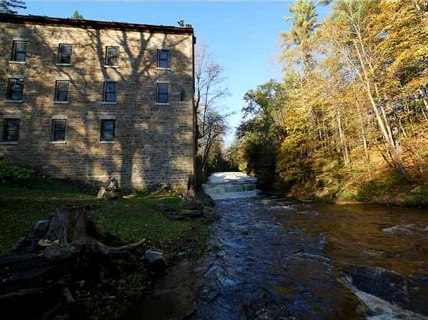 Beekman Brothers Mill Waterfall Home Saint Johnsville New York, The 1835 St. Johnsville Stone Mill, Timmerman Creek, old mills for sale, old stone homes for sale, old stone houses, historic properties, mill photography