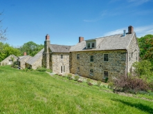 old stone homes for sale, old stone houses for sale, Knoxville, Maryland, backyard, colonial homes, historic properties