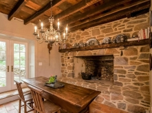 Old Stone Homes for sale, old stone houses for sale, Knoxville, Maryland, stone Fireplace, open hearth, historic homes, colonial homes