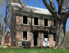 Stone Farmhouse Shell Dover Pennsylvania, old stone homes for sale, old stone houses for sale, old barns,