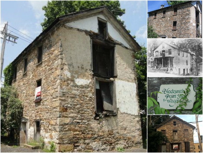 old stone building for sale, River Building, Long Valley, New Jersey, blacksmith shop, Mill road, endangered buildings
