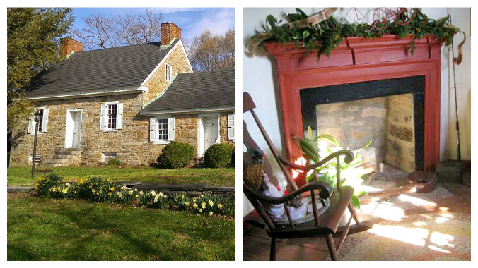 Steppingstone Farm Museum Havre de Grace Maryland Christmas tea old stone homes old stone houses holiday events